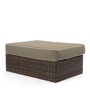 Bellanova wicker ottoman coffee table