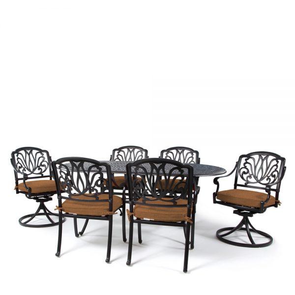 Biscayne 7 piece patio dining set