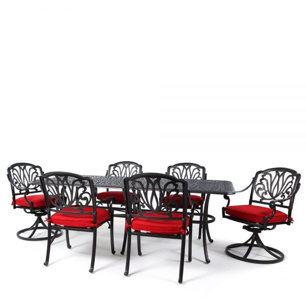 Biscayne 7 piece outdoor dining group