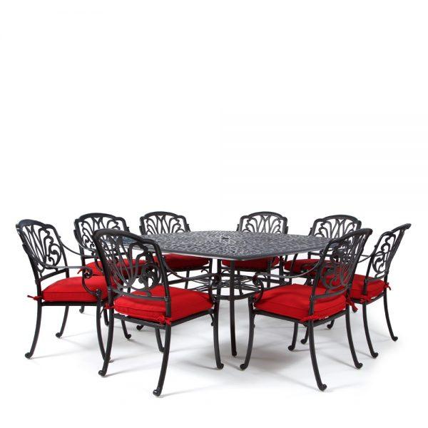 Biscayne 9 piece dining set