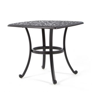 "Biscayne 24"" square tea table"