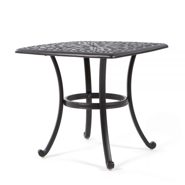 """Biscayne 24"""" square tea table"""