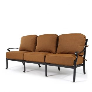 Biscayne sofa with Canvas Teak fabric