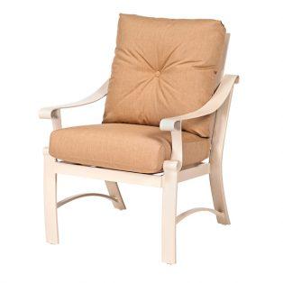 Bungalow aluminum dining chair