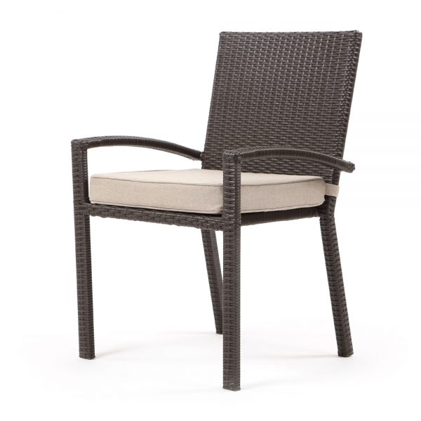 Cabo dining chair - Jacobean weave with Blend Sand cushion