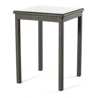 "Cabo wicker 30"" bar table"
