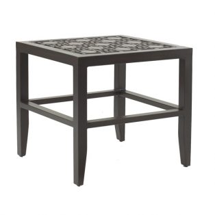 "Castelle 20"" square classical top side table"