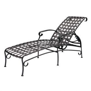 Ramsgate strap chaise lounge