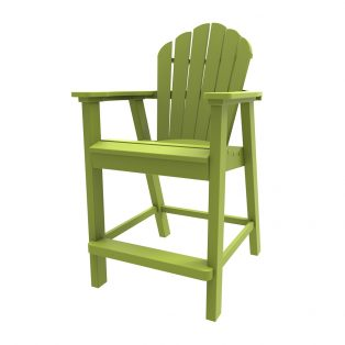 Adirondack classic balcony chair with a Leaf finish