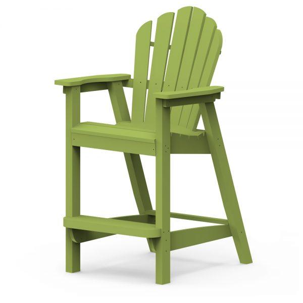 Adirondack classic bar chair with a Leaf finish