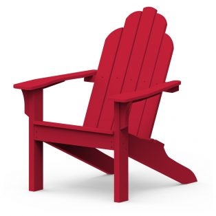 Adirondack classic chair with a Cherry finish