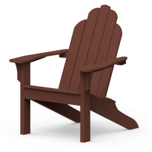 Adirondack classic chair with a Chestnut finish