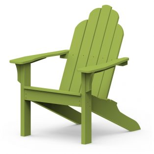 Adirondack classic chair with a Leaf finish