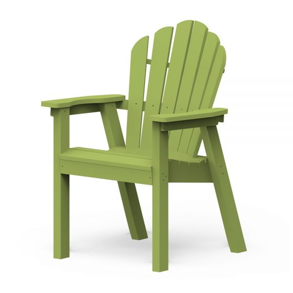 Adirondack classic dining chair with a Leaf finish