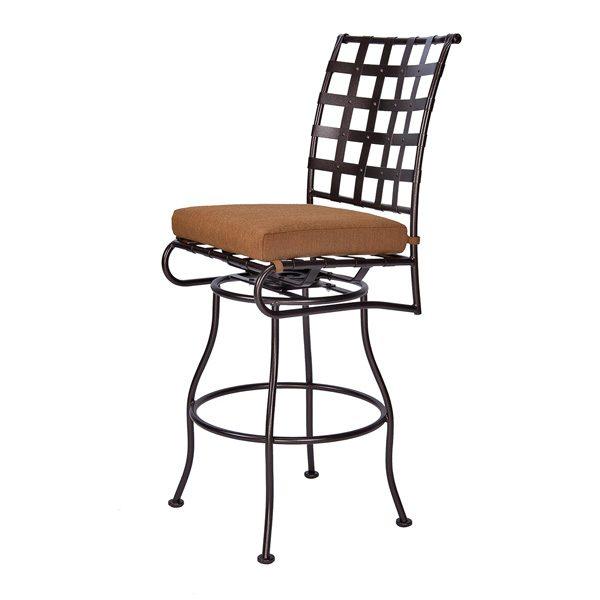 OW Lee Classico armless swivel bar stool