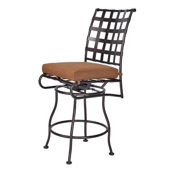 OW Lee Classico armless swivel counter stool