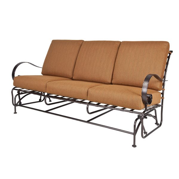 OW Lee Classico wrought iron sofa glider