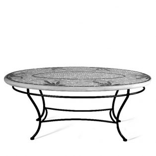 KNF - Neille Olson single tier oval table base