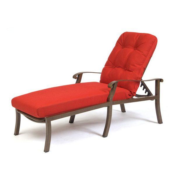 Woodard Cortland patio chaise lounge