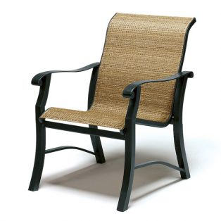 Cortland sling dining chair