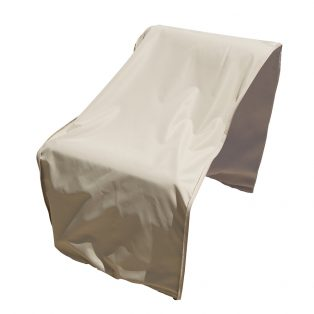 Sectional or modular armless (middle) cover