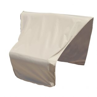 Sectional or modular wedge corner (center) cover