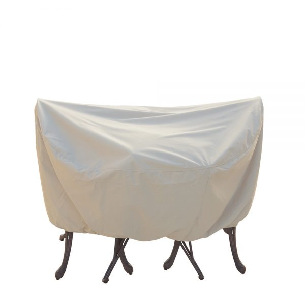 """36"""" bistro or cafe table and chair cover CP531"""