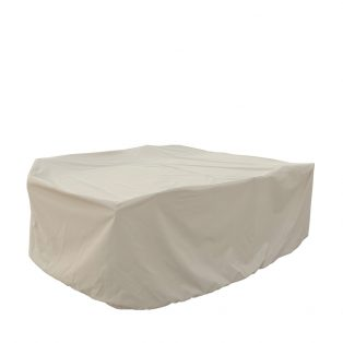 Medium oval/rectangle table & chairs cover CP584