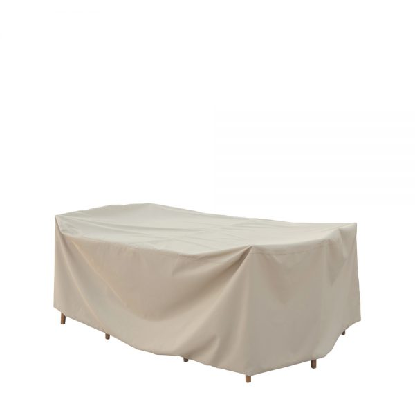 Small oval/rectangle table & chairs cover CP586