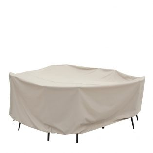 "60"" round table and chair cover CP590"