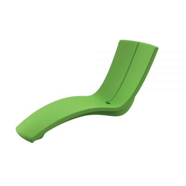 Curve chaise lounge - Bright Green
