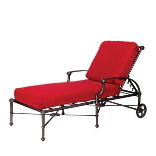 Delphi aluminum chaise lounge