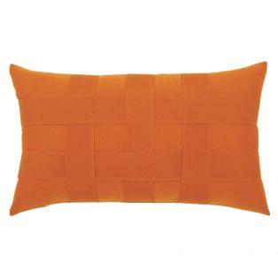 Elaine Smith Basketweave Tuscan designer lumbar pillow