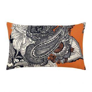 Celestina Midnight outdoor lumbar pillow from Elaine Smith