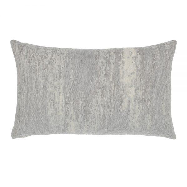 Elaine Smith designer outdoor lumbar pillow - Distressed Granite