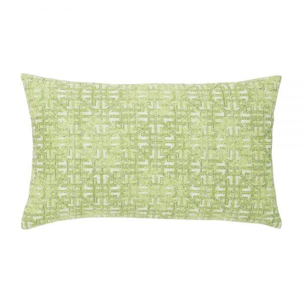 Elaine Smith Gate Greenery designer outdoor lumbar pillow