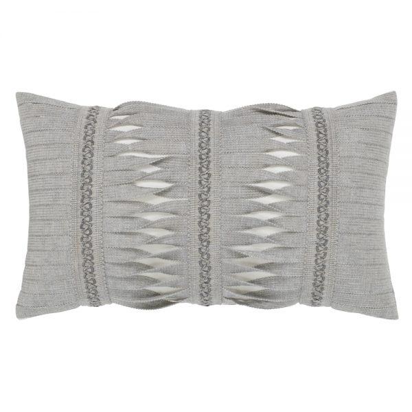 Elaine Smith Gladiator Granite designer lumbar pillow