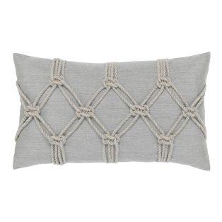 Elaine Smith Granite Rope lumbar pillow from Elaine Smith