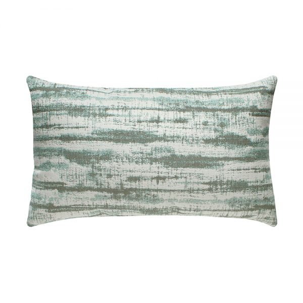 Elaine Smith Linear Mist patio lumbar pillow