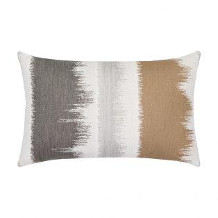Elaine Smith designer outdoor lumbar pillow - Murmur Camel