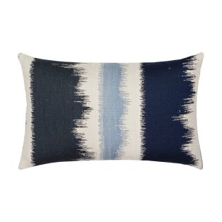 Elaine Smith Murmur Midnight patio lumbar pillow from Elaine Smith