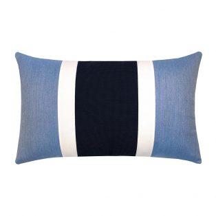 Elaine Smith Nevis designer outdoor lumbar pillow