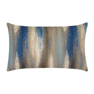 Painterly Mediterranean Elaine Smith designer patio lumbar pillow