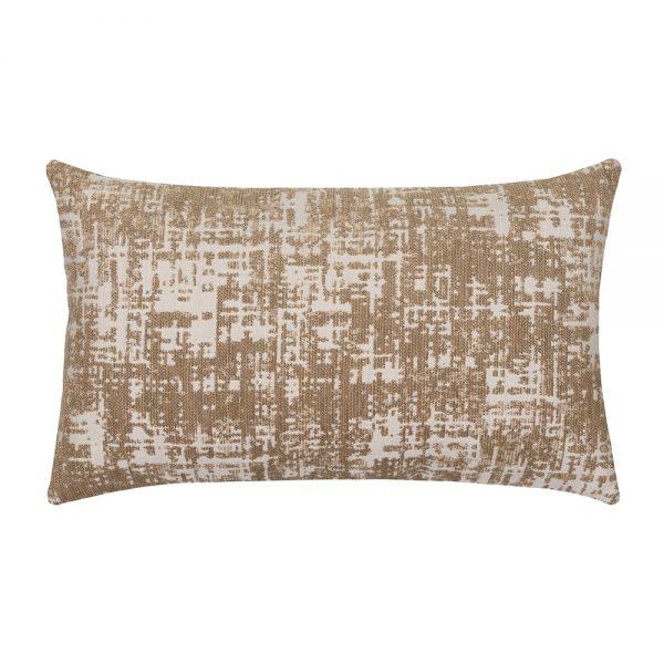 Snug Camel Elaine Smith patio lumbar pillow