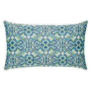 Elaine Smith designer outdoor lumbar pillow - Delphi