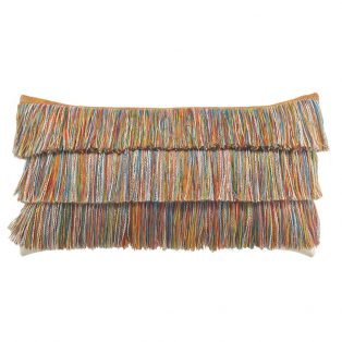 Elaine Smith designer lumbar pillow - Hula
