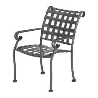 Ramsgate strap stackable dining chair