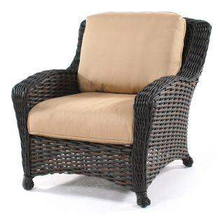 Dreux wicker club chair