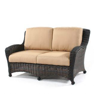 Dreux wicker love seat