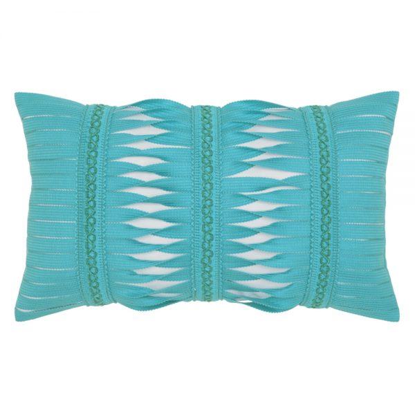 Gladiator Aruba outdoor lumbar pillow from Elaine Smith